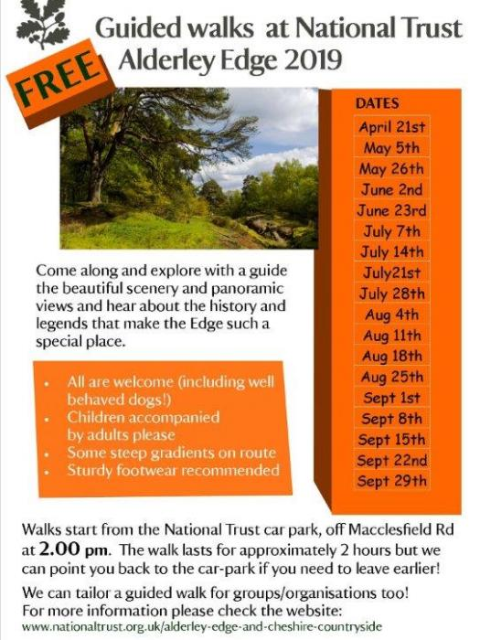 AE Guided Walks poster 2019
