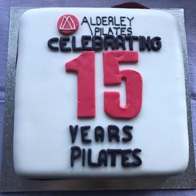 Alderley Pilates 15 Year Anniversary Cake From Wienholts  Alderley Edge  2