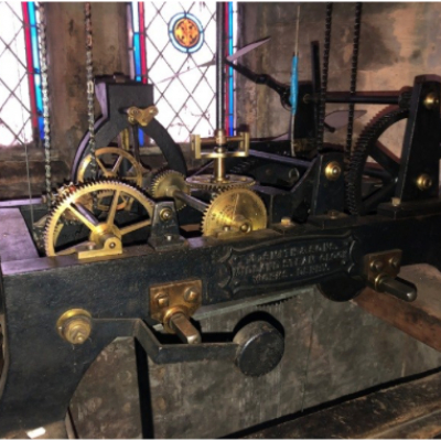 Church Clock mechanism