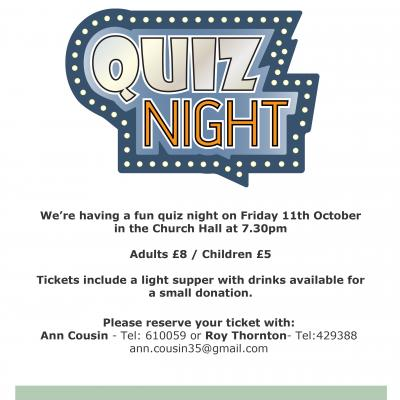 Henbury Quiz Night Poster19