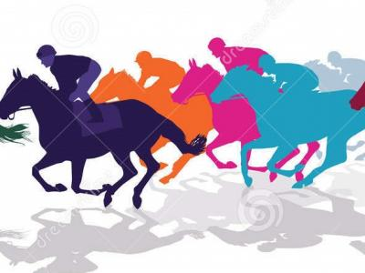http://www.dreamstime.com/royalty-free-stock-image-jockeys-racing-horses-colorful-silhouettes-against-white-image81964666
