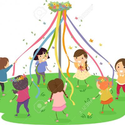 maypole Cartoon