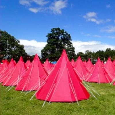 Pink Tents