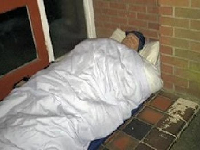 Vicar Sleeps Rough