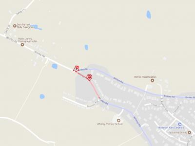 Whirley Road Closure